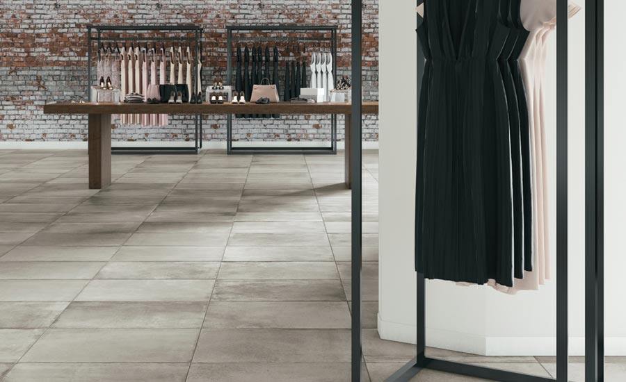 Crossville's Reformation porcelain tile collection