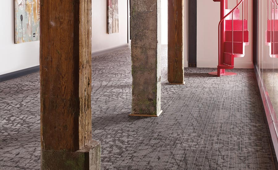Philidelphia Commercial's Beyond the Wall carpet tile collection