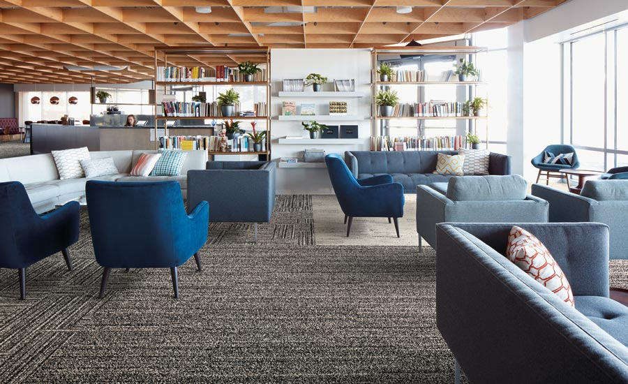Interface's Visual Code carpet collection