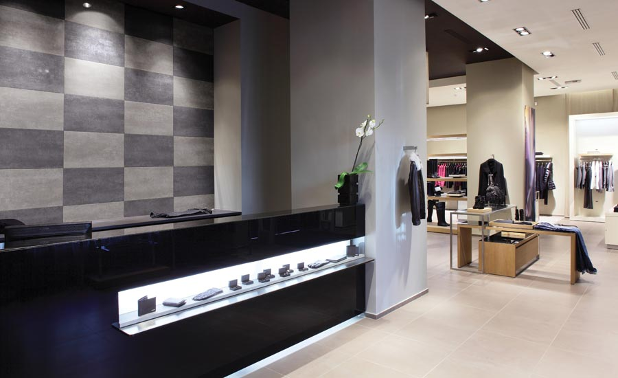 Metroflor's Vercade Wall Fashion plank and tile wall accent collection