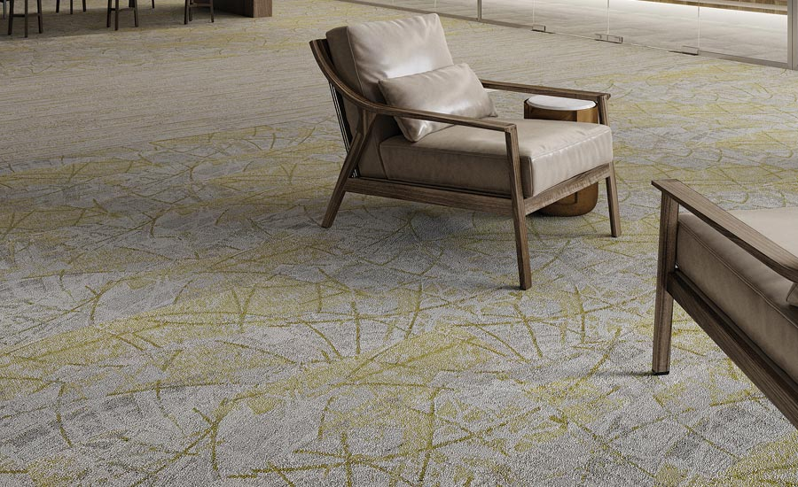 Mannington Commercial's Spin Collection