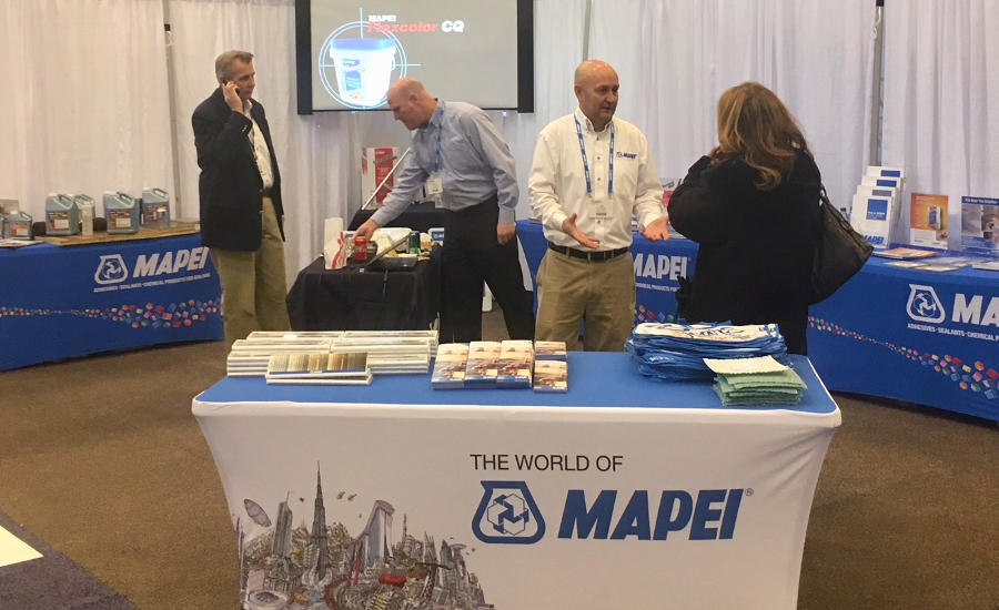 MAPEI-booth