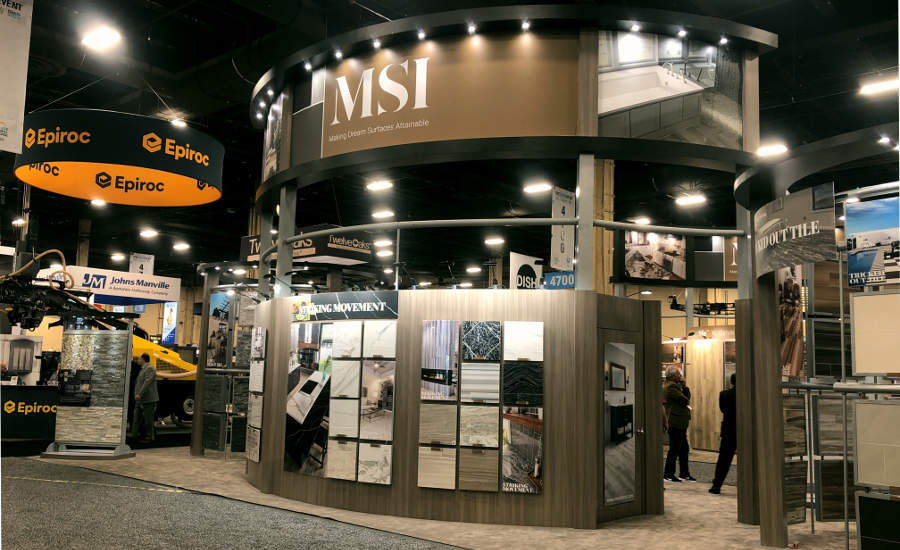 MSI booth at TISE