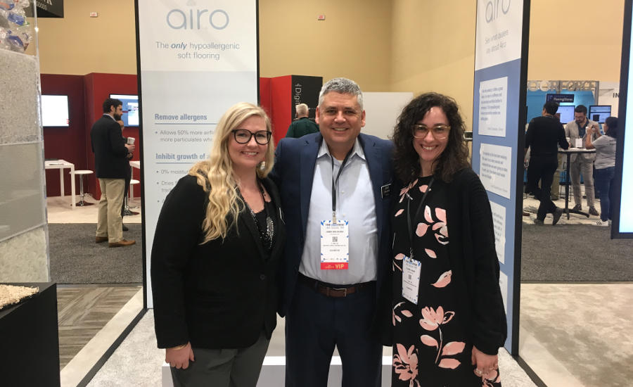 Mohawk Soft Surface staff showcases Airo