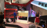 Pergo LVT demo at TISE