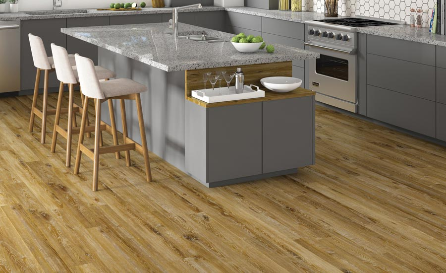 Maybree LVT collection from Novalis