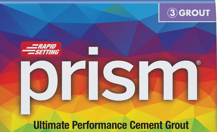 Custom Building Products' Prism Ultimate Performance Cement Grout