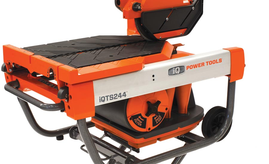 iQTS244 dry cut tile saw from IQ Power Tools