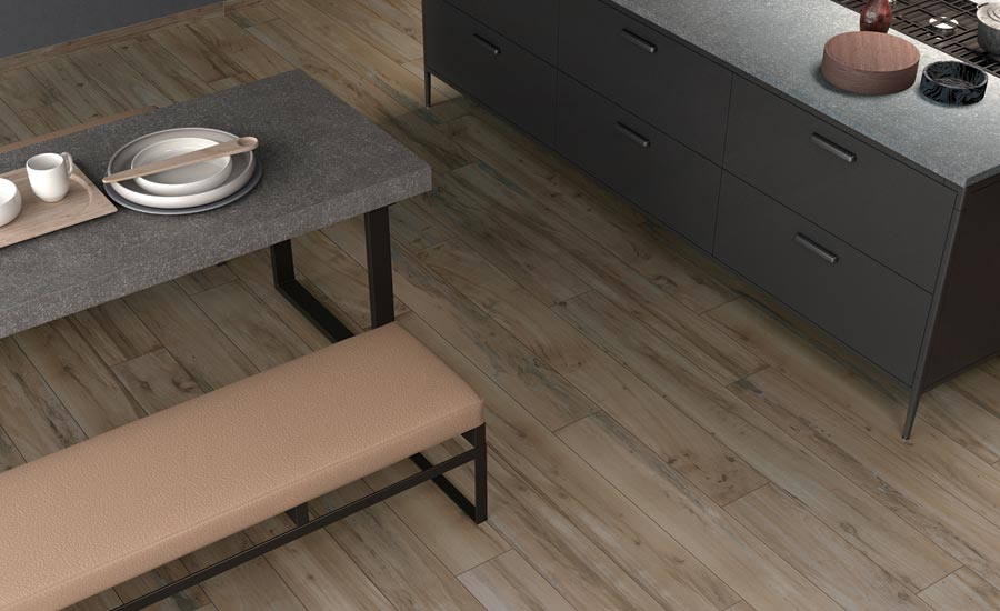 Emser Tile's Hollywood wood-look tile collection