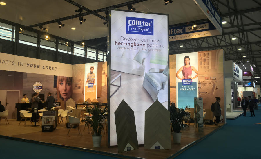 COREtec booth at Domotex Asia