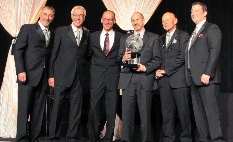 CarpetsPlus ColorTile Retailer of the Year award