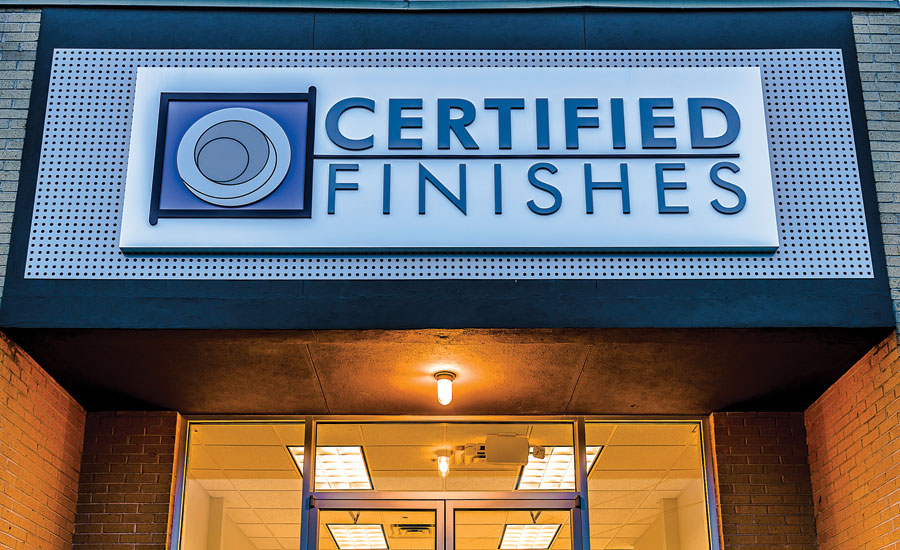 Certified Finishes
