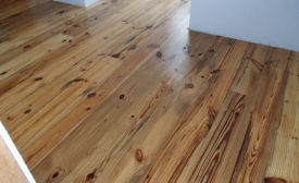 Old Growth Riverwood's flooring produced from salvaged wood