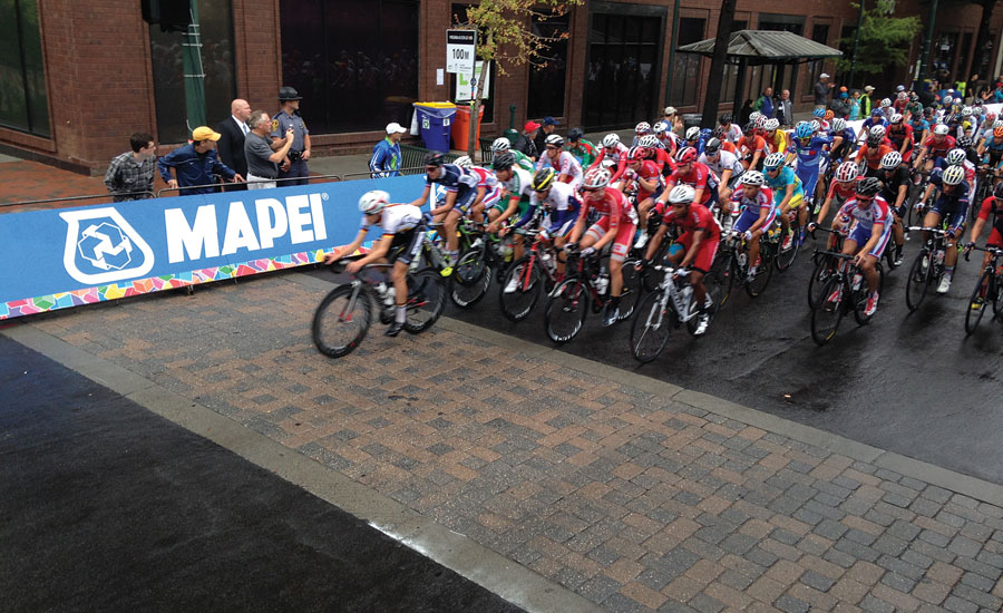 MAPEI main event sponsor