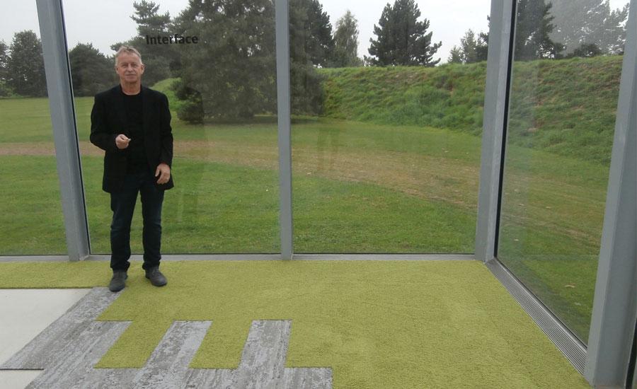 Interface Human Nature carpet tile