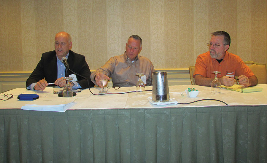John Becker, Ed Woolley, Billy Dotson discuss planning for future