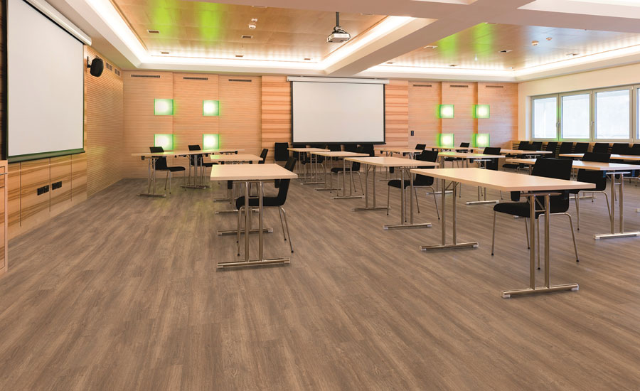 Choosing flooring products for education settings 2016 for Classroom floor