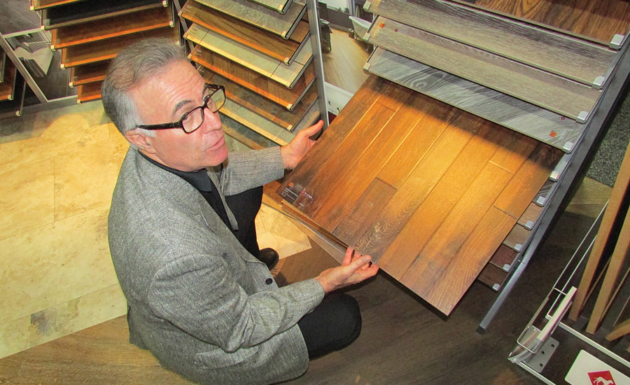 Emil Mellow discusses detail in Karndean's LVT