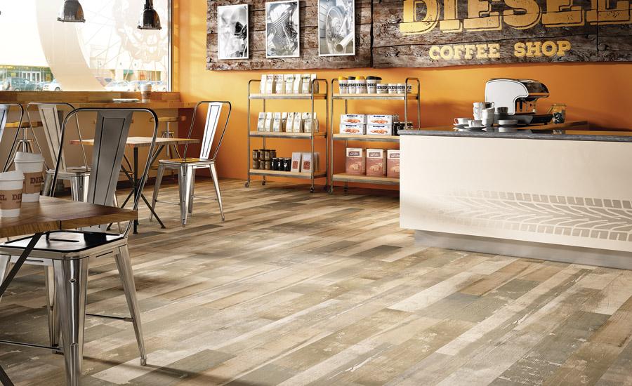 Modern Wood Look Flooring