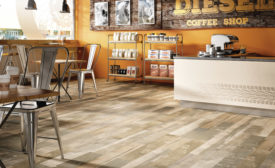 modern wood look flooring