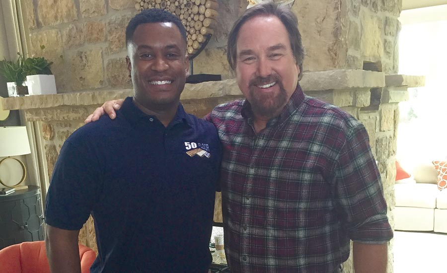 Richard Karn and Lionel Bastiste
