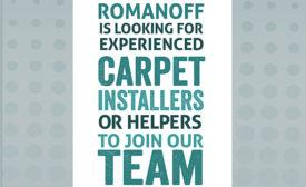 Romanoff Renovations' recruitment poster