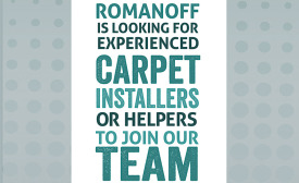 Romanoff Renovations recruitment poster