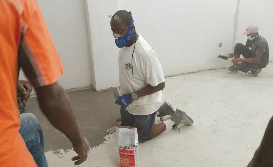 U S Installers Partner With Bhi For Haiti Build 2016 12