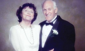 Lillian Rosenstock with husband