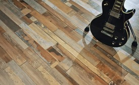 Chords and Rhythms luxury vinyl plank