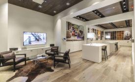 Divine Flooring's showroom