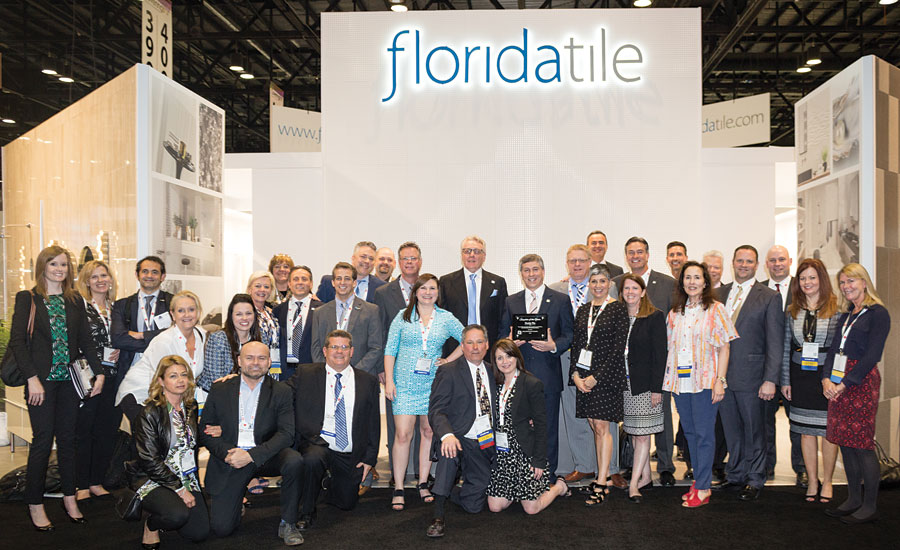 Florida Tile wins Supplier of the Year