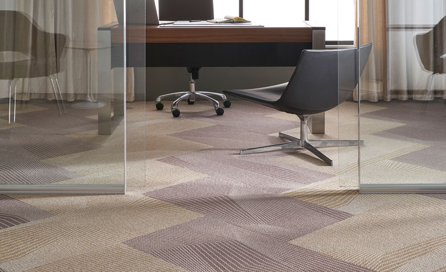 Moraine modular carpet