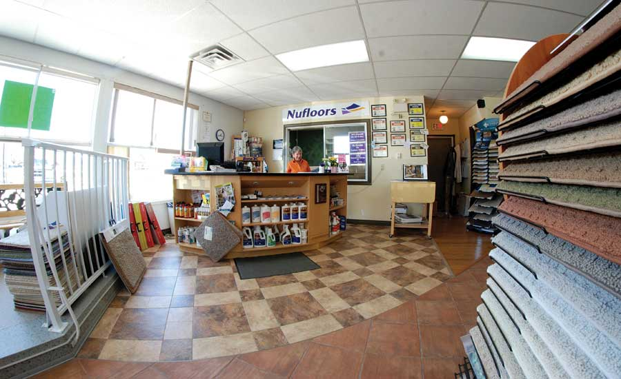 Nufloors Creston store interior
