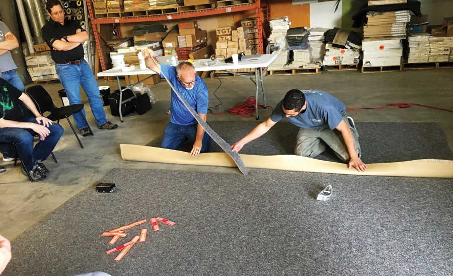 flooring installation training