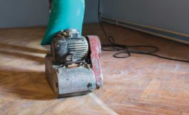 maintaining a hardwood floor