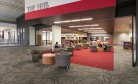 flooring installation in campus