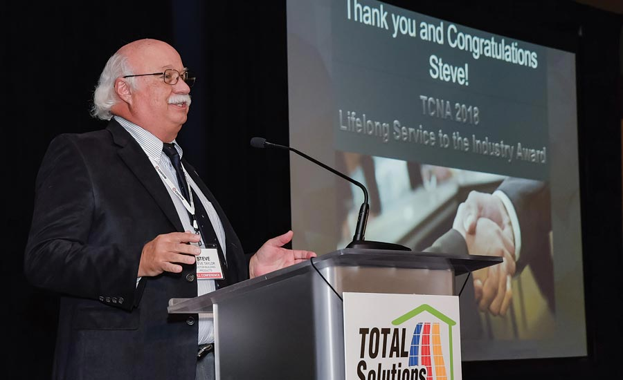 Steve Taylor receives Lifelong Service to the Industry Award