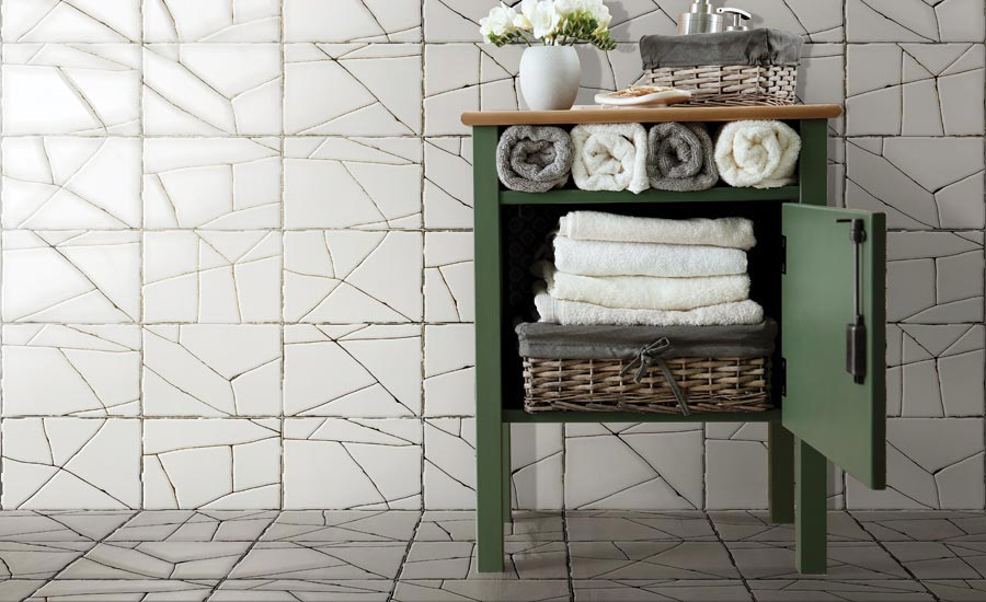 Craze porcelain tile