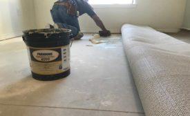 installing over non-porous concrete