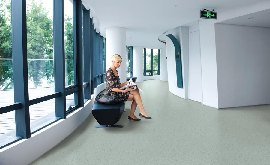Gerflor S Mipolam Affinity For Safe Healthcare