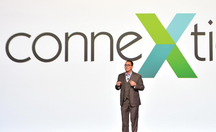 Keith Spano speaks at opening session of ConneXtion