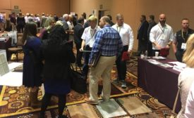 networking at specialty vendor showcase