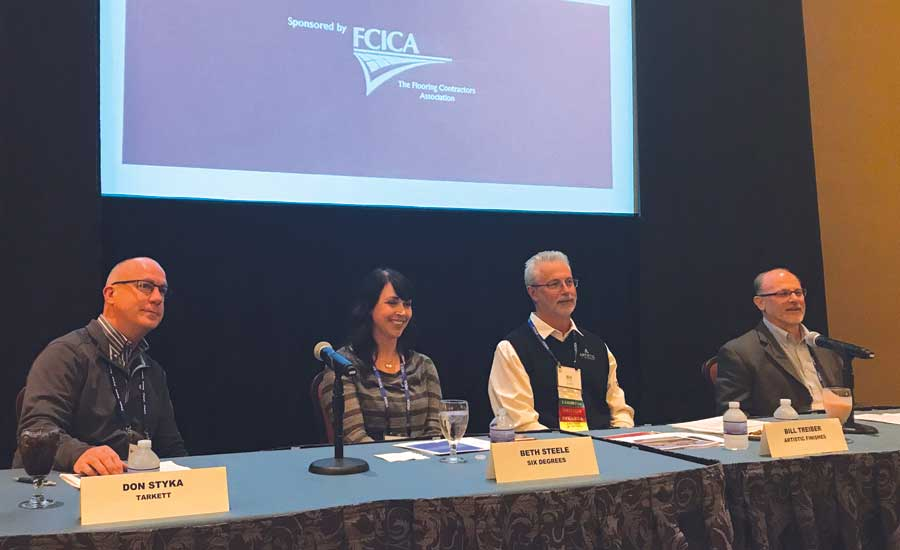 panel at FCICA convention
