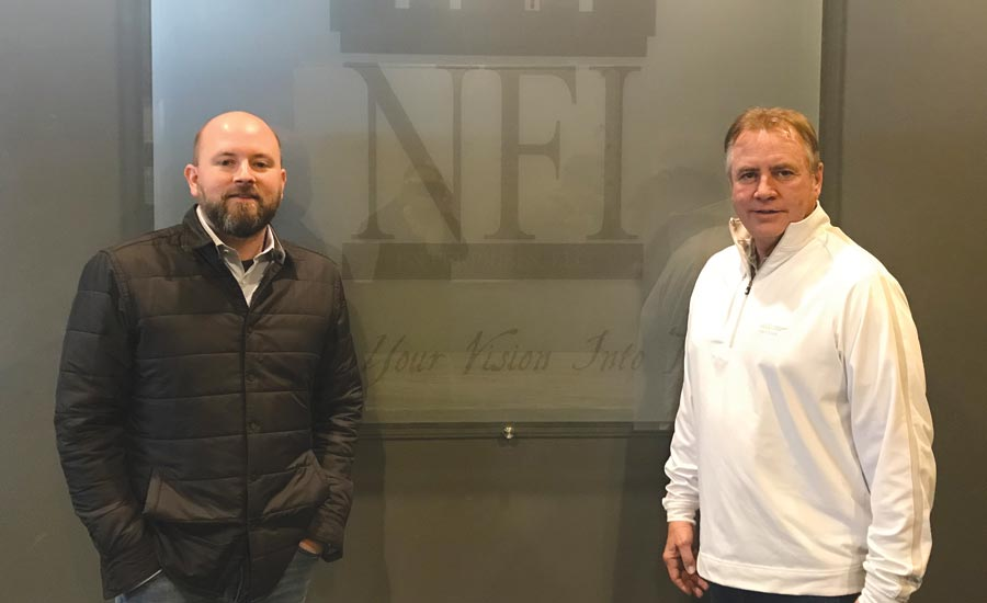 Zach and Gary Brown, owners of NFI