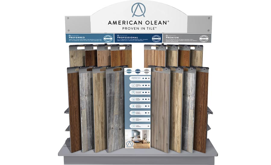 American Olean's Preferred, Professional and Premium tiers