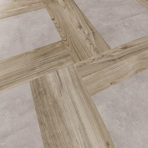 LVT in mixed format