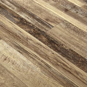 wire-brushed LVT