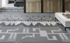 Crafted Convergence carpet