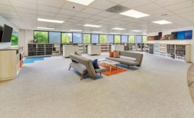 Floor Solutions' showroom